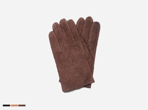 man's suede glove